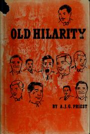 Cover of: Old hilarity | A. J. G. Priest