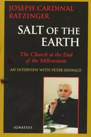 Salt of the Earth: The Church at the End of the Millennium