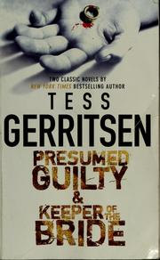 Cover of: Presumed guilty