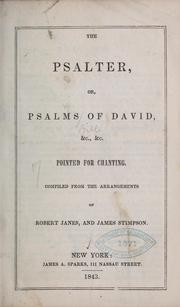 Cover of: The Psalter... |
