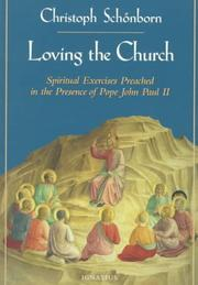 Cover of: Loving the Church
