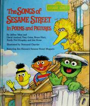 Cover of: The Songs of Sesame Street in poems and pictures