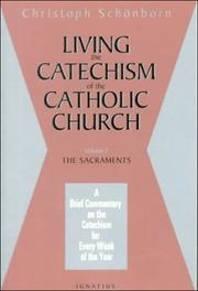 Cover of: Living the Catechism of the Catholic Church