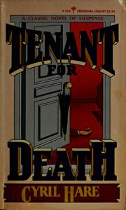 Cover of: Tenant for death
