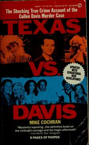 Cover of: Texas vs. Davis