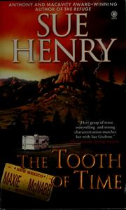 Cover of: The tooth of time