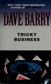 Cover of: Tricky business