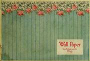 Cover of: Wall paper by Sears, Roebuck and Company