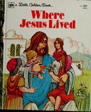 Cover of: Where Jesus lived