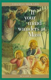 Cover of: If your mind wanders at Mass