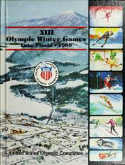 Cover of: XIII Olympic Winter Games, Lake Placid, 1980 | Eugene H. Baker