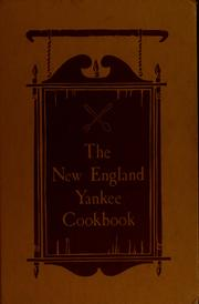 Cover of: The Yankee cook book | Wolcott, Imogene B. Mrs.