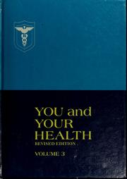 Cover of: You and your health