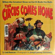 Cover of: The circus comes home | Lois Duncan