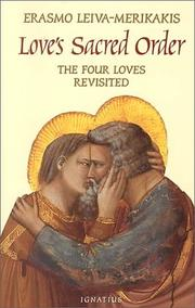 Cover of: Love's Sacred Order