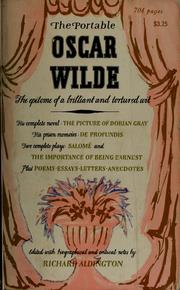 Cover of: The plays of Oscar Wilde
