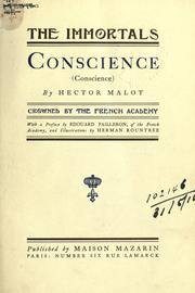 Cover of: Conscience (Conscience)  With a pref. by Edouard Pailleron and illus. by Herman Rountree