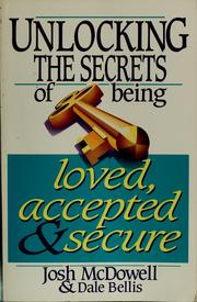 Cover of: Evidence for joy: unlocking the secrets of being loved,accepted and secure