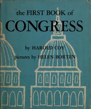 Cover of: The first book of Congress | Harold Coy