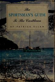 Cover of: The sportsman's guide to the Caribbean