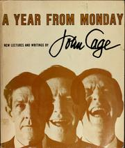 Cover of: A year from Monday | Cage, John., John Cage