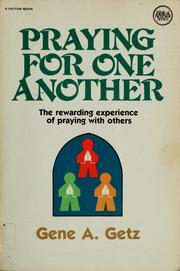 Cover of: Praying for one another