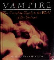 Cover of: Vampire