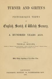 Cover of: Turner and Girtin