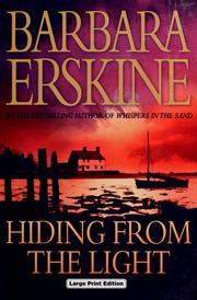 Cover of: Hiding from the light by Barbara Erskine