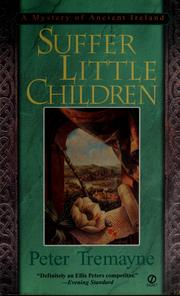 Cover of: Suffer little children