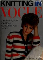 Knitting in Vogue by Christina Probert