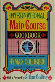 International main course cookbook.