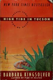 Cover of: High tide in Tucson by Barbara Kingsolver