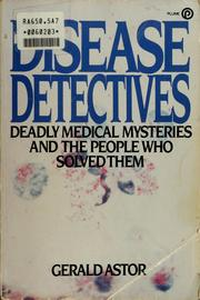 Cover of: The disease detectives