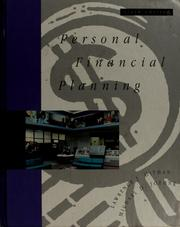 Cover of: Personal financial planning | Gitman, Lawrence J.