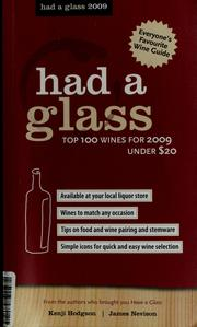 Cover of: Had a glass | Kenji Hodgson