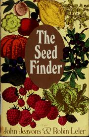 Cover of: The seed finder