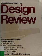 Cover of: Design review | Edward K. Carpenter