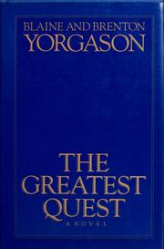 Cover of: The greatest quest