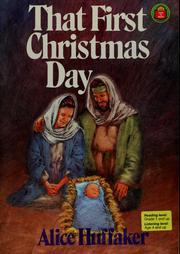 Cover of: That first Christmas day