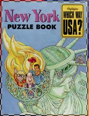 Cover of: New York puzzle book