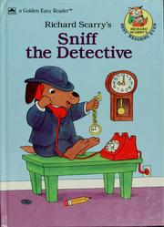Cover of: Sniff the Detective (Road to Reading) | Golden Books