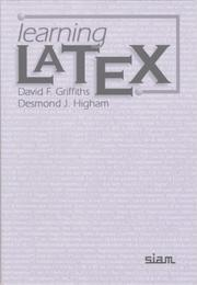 Cover of: Learning LATEX