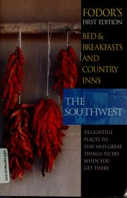Cover of: Bed & breakfasts and country inns |
