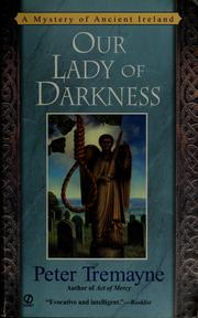 Cover of: Our lady of darkness
