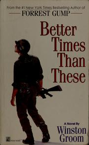 Cover of: Better times than these