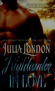 Cover of: Highlander in love | Julia London