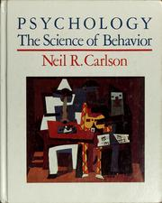 Cover of: Psychology | Neil R. Carlson