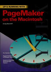 Cover of: Up & running with PageMaker on the Macintosh