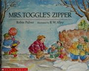 Cover of: Mrs. Toggle's zipper